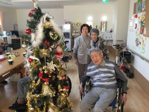クリスマスツリー(2019.12.03 デイサービスよりそい)